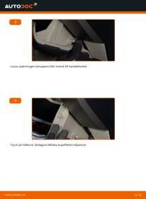 Så byter du Kupefilter på 1.5 (NHW2_) Toyota Prius 2