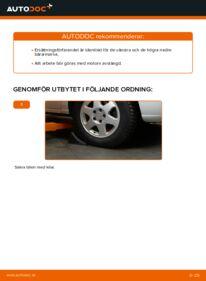 Så byter du Länkarm på 2.0 DTI 16V (F75) Opel Zafira f75