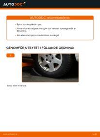 Så byter du Styrled på 2.0 DTI 16V (F75) Opel Zafira f75