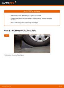 Kā veikt nomaiņu: 320d 2.0 BMW E46 Stūres šķērsstiepņa uzgalis