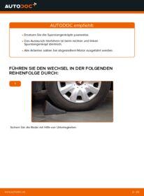 Wie der Wechsel durchführt wird: Spurstangenkopf KIA Sorento jc 2.5 CRDi 2.4 3.5 V6 tauschen