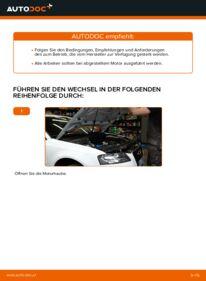 Wie der Austausch bewerkstelligt wird: Luftfilter beim 2.0 TDI 16V Audi A3 8p1