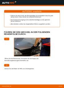 Wie der Wechsel durchführt wird: Bremsbacken Opel Corsa C 1.2 (F08, F68) 1.0 (F08, F68) 1.3 CDTI (F08, F68) tauschen