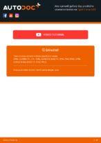 Výmena Čap ramena OPEL CORSA: online návod