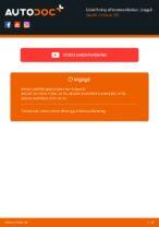 Trin-for-trin PDF-tutorial om SKODA OCTAVIA Combi (1Z5) Bremseklodser skift