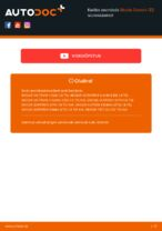 Online tasuta juhised kuidas vahetada Süüteküünal SKODA OCTAVIA Combi (1Z5)