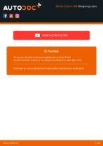 Lépésről-lépésre PDF-útmutató - SKODA OCTAVIA Combi (1Z5) Gumiharang Készlet Kormányzás csere