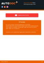 Kerékcsapágy készlet cseréje: pdf útmutatók SUZUKI SWIFT