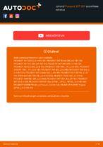 Online tasuta juhised kuidas vahetada Soonrihm PEUGEOT 307 SW (3H)