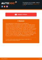 Смяна на преден ляв Колесен цилиндър на PEUGEOT 206 CC (2D): ръководство pdf