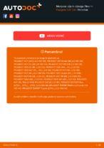 Kdaj zamenjati Oljni filter PEUGEOT 307 SW (3H): pdf navodila