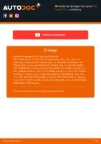 Hvordan bytte og justere Viskerblader FIAT PANDA: pdf håndbøker