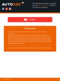 Vervangen: Gloeilamp Koplamp 1.6 TDI Touran 1t3