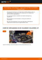Aanbevelingen van de automonteur voor het vervangen van OPEL Opel Astra g f48 1.6 (F08, F48) Remblokken
