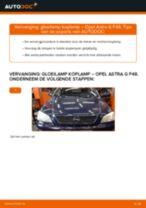 PDF Reparatie tutorial van automaterialen: Astra G CC (T98)