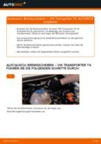 Empfehlungen des Automechanikers zum Wechsel von VW VW TRANSPORTER IV Bus (70XB, 70XC, 7DB, 7DW) 2.4 D Stoßdämpfer
