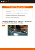Montering Bremseskiver RENAULT KANGOO (KC0/1_) - steg-for-steg manualer
