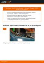 Jak zmienić Komplet klocków hamulcowych RENAULT KANGOO: darmowy pdf
