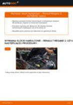 Samodzielna wymiana Zestaw klocków hamulcowych tylne i przednie RENAULT - online instrukcje pdf