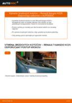 TRW DF2586 pre KANGOO (KC0/1_) | PDF návod na výmenu