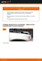Montáž Čap riadenia BMW X5 (E53) - krok za krokom príručky