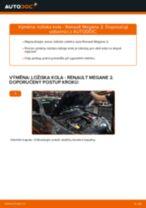 Doporučení od automechaniků k výměně RENAULT RENAULT MEGANE II Saloon (LM0/1_) 1.9 dCi List stěrače