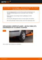 Montage Achteraslager SKODA FABIA Combi (6Y5) - stap-voor-stap handleidingen
