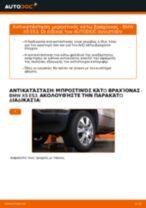 Τοποθέτησης Ψαλίδια αυτοκινήτου BMW X5 (E53) - βήμα - βήμα εγχειρίδια