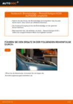HONDA CONCERTO Bremsscheiben wechseln hinten und vorne Anleitung pdf