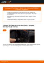 Endschalldämpfer wechseln BMW 3 SERIES: Werkstatthandbuch