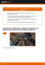 Austauschen von Stützlager RENAULT KANGOO: PDF kostenlos