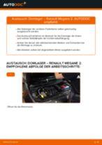 RENAULT Federbeinlager hinten und vorne selber austauschen - Online-Bedienungsanleitung PDF