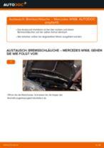 Wann Bremsschlauch austauschen: PDF Anleitung für MERCEDES-BENZ A-CLASS (W168)