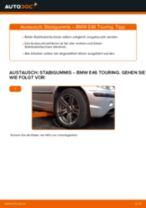 Wie BMW E46 Touring Stabigummis vorne wechseln - Schritt für Schritt Anleitung