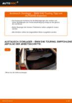 Wie BMW E46 Touring Domlager hinten wechseln - Schritt für Schritt Anleitung