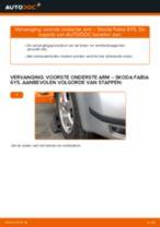 Vervang het Draagarm wielophanging van de Suzuki Swift 2 met onze online pdf-handleiding