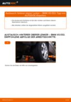 Wie BMW X5 E53 hinterer oberer Lenker wechseln - Anleitung