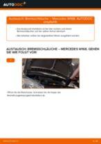 Empfehlungen des Automechanikers zum Wechsel von MERCEDES-BENZ Mercedes W168 A 170 CDI 1.7 (168.009, 168.109) Bremsbeläge