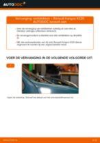 PDF handleiding voor vervanging: Remblokset RENAULT KANGOO (KC0/1_) achter en vóór