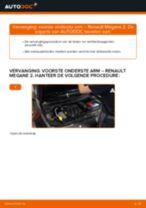 Renault Megane 2 Cabrio reparatie en onderhoud tutorial