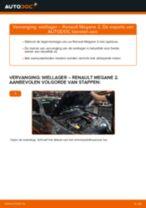 Handleiding PDF over onderhoud van MEGANE