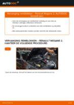 PDF handleiding voor vervanging: Remblokset RENAULT MEGANE II Saloon (LM0/1_) achter en vóór