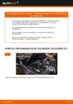 Werkplaatshandboek voor Renault Megane Scenic