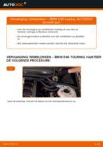 Hoe remblokken achteraan vervangen bij een BMW E46 touring – vervangingshandleiding
