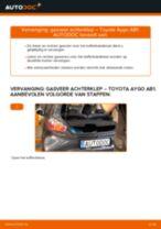 Aanbevelingen van de automonteur voor het vervangen van TOYOTA Toyota Aygo ab1 1.4 HDi Ruitenwissers