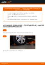 Subframe rubbers vervangen TOYOTA AYGO: gratis pdf