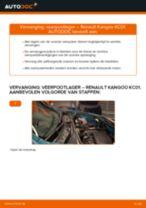 RENAULT Veerpootlagers achter en vóór veranderen doe het zelf - online handleiding pdf