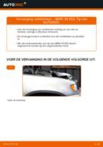 Hoe Remblokset veranderen en installeren BMW X5: pdf handleiding