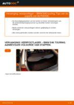 Hoe veerpootlager achteraan vervangen bij een BMW E46 touring – Leidraad voor bij het vervangen
