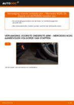 Hoe voorste onderste arm vervangen bij een Mercedes W210 – Leidraad voor bij het vervangen